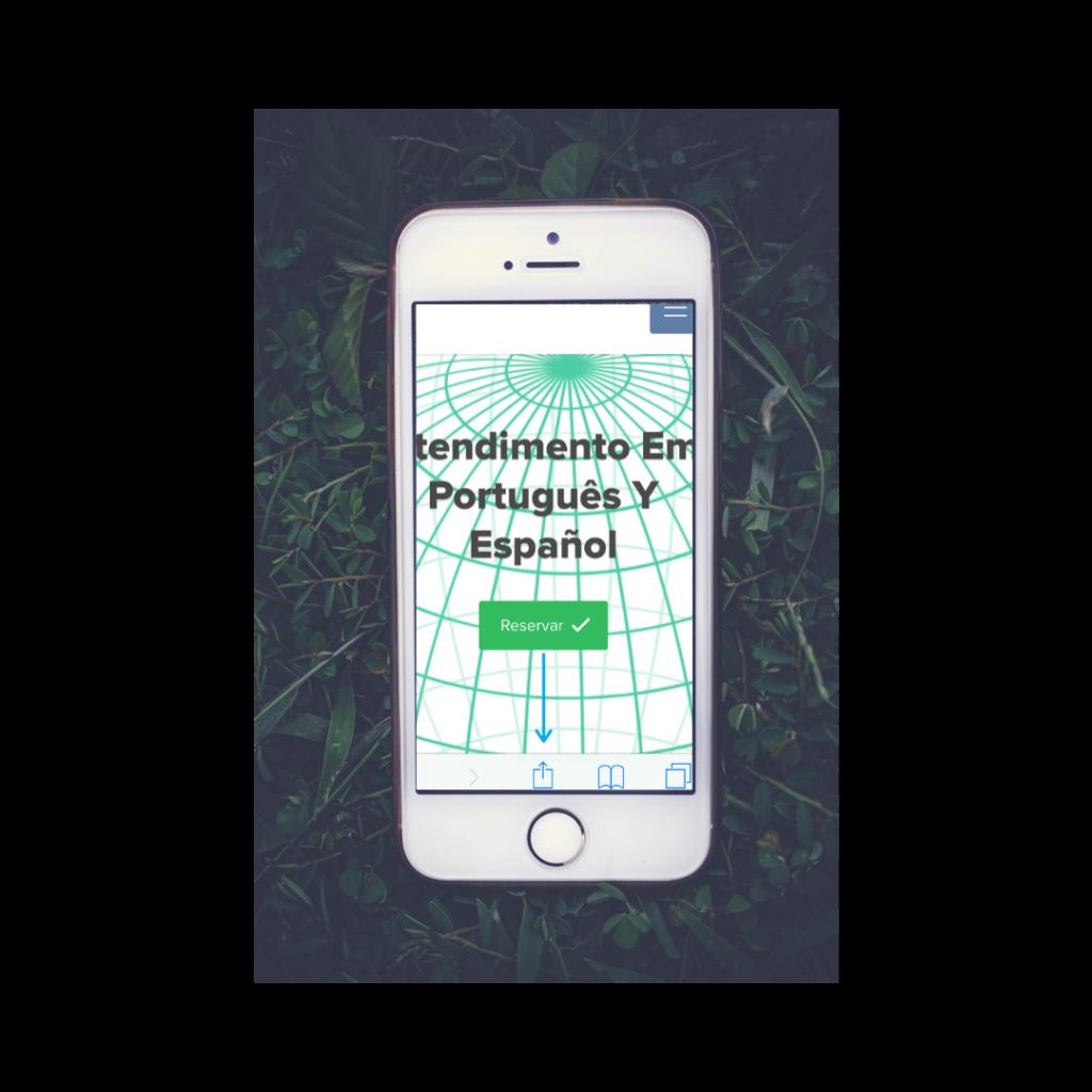 Bookmark como app